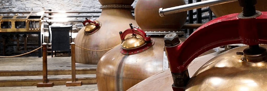 Image of Woodford Reserve Copper Bourbon Distillery Stills