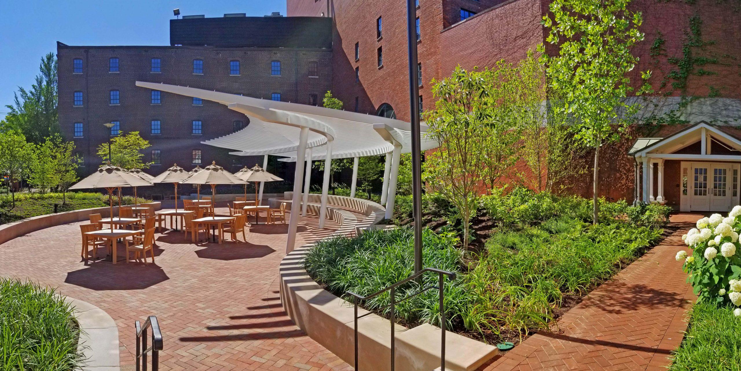 Brown-Forman Garneau Courtyard